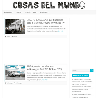 Cosasdelmundoahora – Entretenimiento mundial