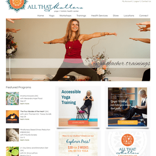 All That Matters Yoga + Holistic Health Centers - Rhode Island