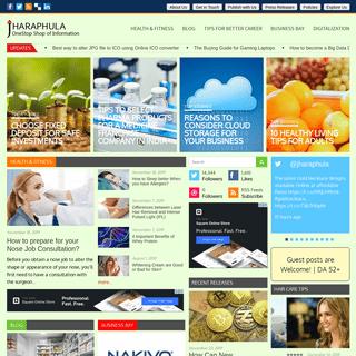 JHARAPHULA - OneStop Shop of various Interactive Information
