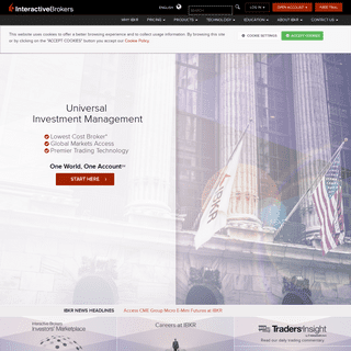 Lowest Cost Online Trading and Investing - Interactive Brokers