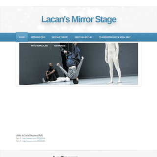 Lacan's Mirror Stage - Home