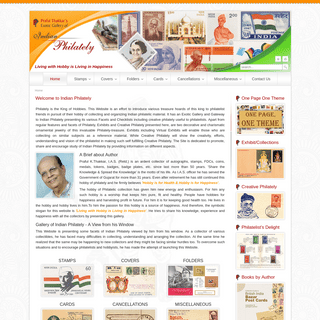Welcome to Indian Philately --- Praful Thakkar's Exotic Gallery of Indian Philately