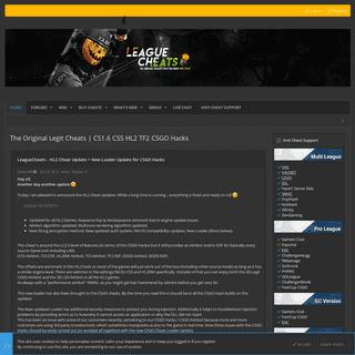 The Original Legit Cheats - CS1.6 CSS HL2 TF2 CSGO Hacks