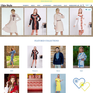UKRAINIAN FASHION IS A UNIQUE STYLE CLOTHING AND ACCESSORIES
