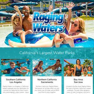 Best Water Park in Los Angeles, CA - Raging Waters Los Angeles