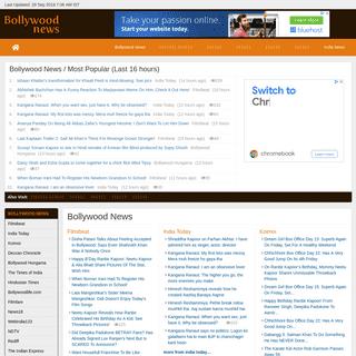 Bollywood News - BollywoodNews.org