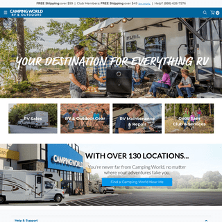 Camping World- RV Parts, Supplies, Accessories & Outdoor Gear - Camping World