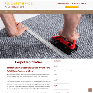 Professional Carpet Installers in Bucks and Montgomery County, PA - R&N Carpet Services - rncarpet.com