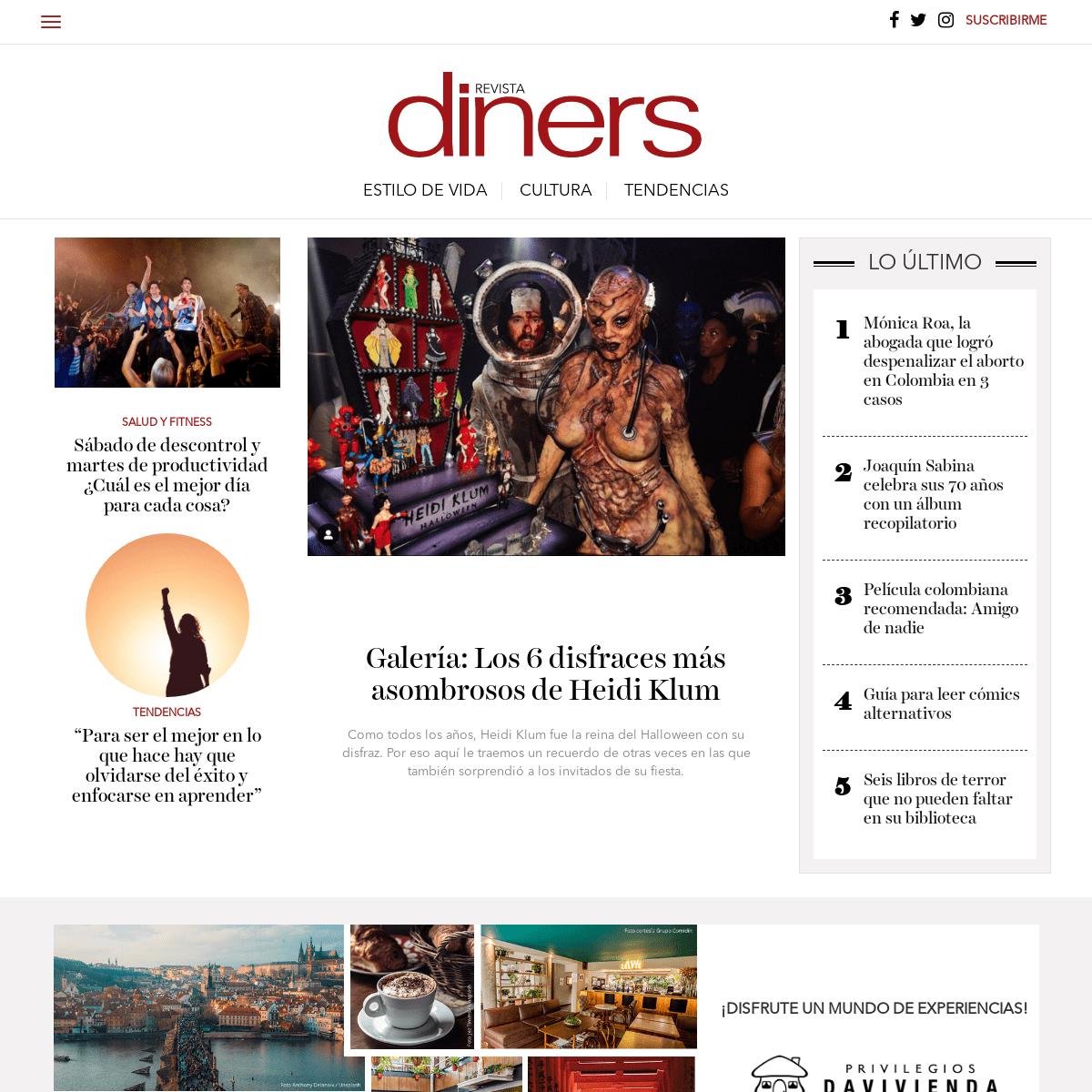 Revista Diners - Cultura y estilo de vida