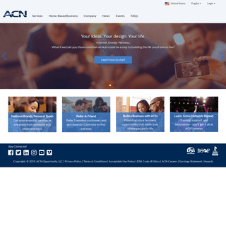 ArchiveBay.com - acninc.com - ACN US - A Leader in Essential Services for Home & Business