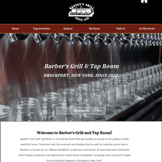 Barber's Grill and Tap Room -