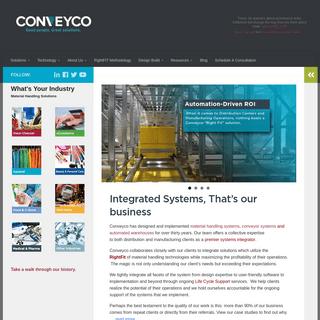 ArchiveBay.com - conveyco.com - Conveyco - Material Handling Systems Integrator