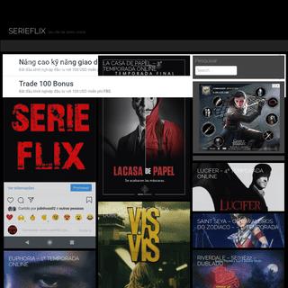 SERIEFLIX – Seu site de séries online
