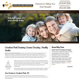 Dentist Overland Park, KS - Overland Park Dentistry - Family Dental Clinic
