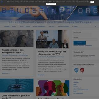 ArchiveBay.com - bruderinfo-aktuell.org - Bruderinfo-Aktuell - Informationen über Zeugen Jehovas und die Wachtturm-Gesellschaft sowie Hilfe für Aussteiger und Zweifler