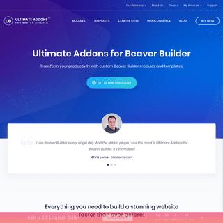 ArchiveBay.com - ultimatebeaver.com - The Best Beaver Builder Addon - Ultimate Addons for Beaver Builder