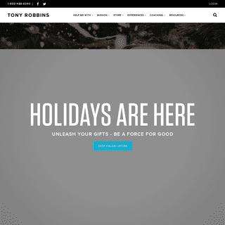 ArchiveBay.com - tonyrobbins.com - Tony Robbins - The Official Website of Tony Robbins