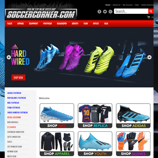 ArchiveBay.com - soccercorner.com - SoccerCorner.com Your Online store to shop for Soccer Cleats, Jerseys and More!