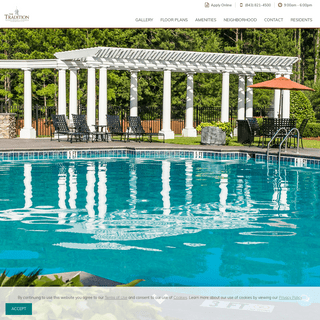 Apartments in Summerville , SC - The Tradition at Summerville in Summerville , SC