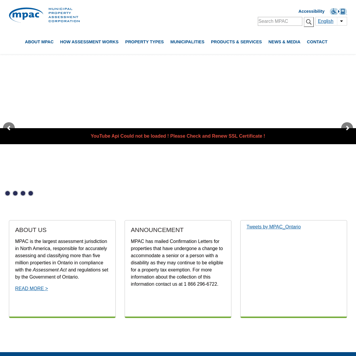 Welcome to MPAC - MPAC