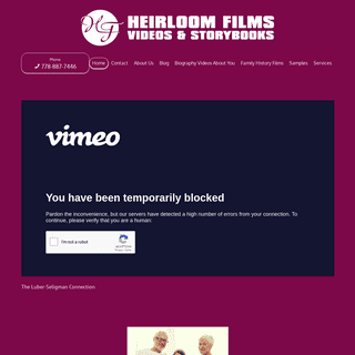 ArchiveBay.com - heirloomfilms.ca - Your Gift - Heirloom Films and Storybooks