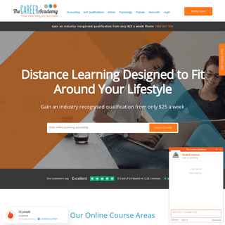 Online Courses AU - Online Learning - The Career Academy AU