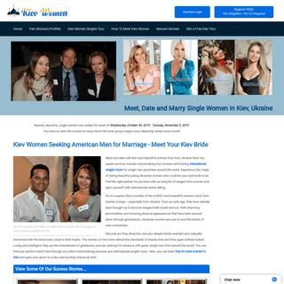 Kiev Women for Marriage - Kiev Women Seeking American Men