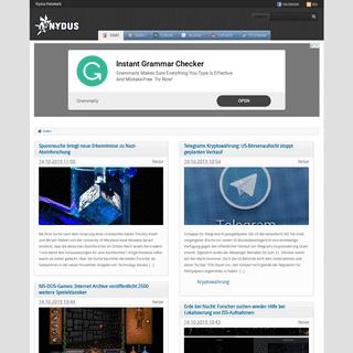 Nydus News - Dein Nachrichten Netzwerk