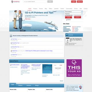 ManagementParadise.com - Management education focused social learning platform. Discover, Share, Learn