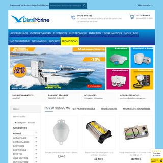 Accastillage Distrimarine - équipement pour bateaux, plaisance et nautisme