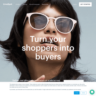 LimeSpot- eCommerce Personalized Recommendations, Upsell, Cross-sell