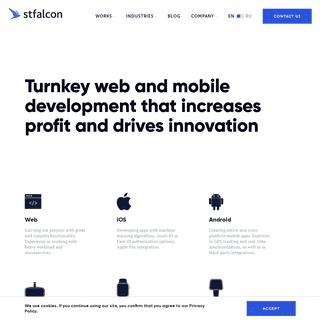 Web and mobile app development, web design company - Stfalcon.com
