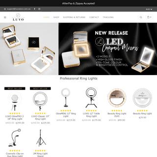 Ring Lights & Vanity Makeup Mirrors Australia – LUVO STORE