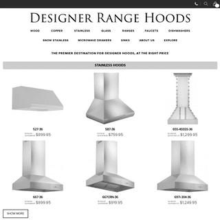 ArchiveBay.com - designerrangehood.com - Designer Range Hood - Your Source for Copper and wood Range Hoods