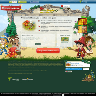 Miramagia- free farming game full of magic
