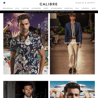 Men's Clothing - The Latest Men's Fashion Online - Calibre