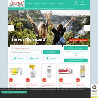 Online Versandapotheke für Österreich » Servus! Apotheke