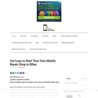 RepairMyMobile.in - One Stop Solution for Mobile Repair