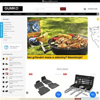 ArchiveBay.com - gumko.cz - GUMKO.CZ - autokoberce, vany do kufu, autopříslušenství, nářadí...