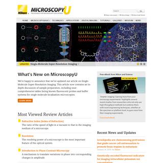 MicroscopyU - The Source for Microscopy Education