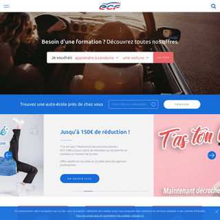 Auto École ECF - 1er réseau d'auto-école de conduite en France - ECF