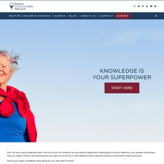 Patient Empowerment Cancer Treatment - Empowerment For Patients Care