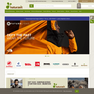 Outdoor Online Shop - naturzeit.com
