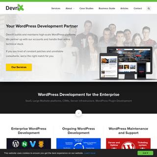 WordPress Development Agency - Custom Web Development by DevriX