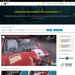 ArchiveBay.com - latinncap.com - LATIN NCAP