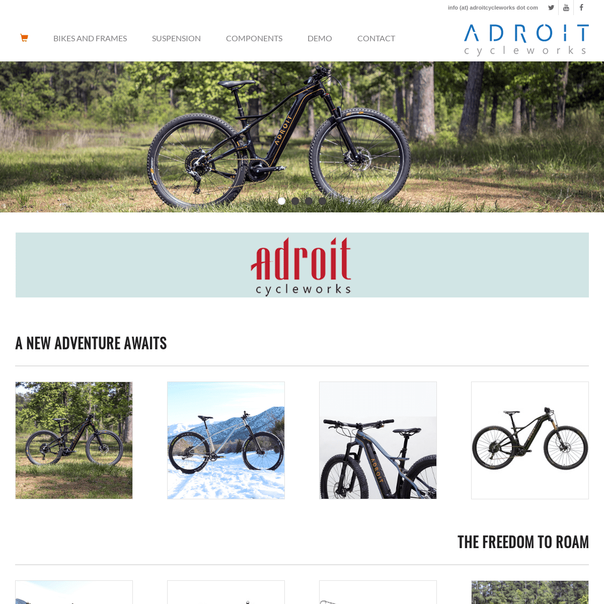 ArchiveBay.com - adroitcycleworks.com - ADROIT.bike - ADROIT Cycleworks