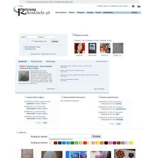ArchiveBay.com - centrumrekodziela.pl - Centrum Rękodzieła - oryginalne, ręcznie wykonane przedmioty, biżuteria, serwetki, koronki