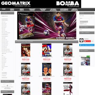 ArchiveBay.com - geomatrixgames.com - Bem vindo(a) à nossa loja virtual