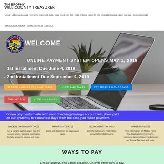 ArchiveBay.com - willcountytreasurer.com - Tim Brophy – WILL COUNTY TREASURER
