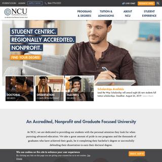 Accredited Online University & Graduate Degree Programs - Northcentral University